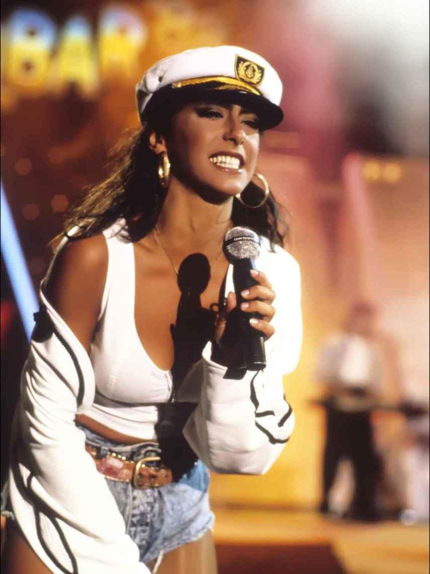Sabrina Salerno fue una de las mujeres más deseadas a finales de los años 80 y principios de los 90.