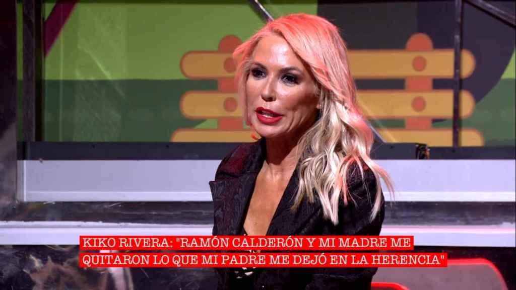 Montse Suárez, durante su participación en 'Cantora: la herencia envenenada'.