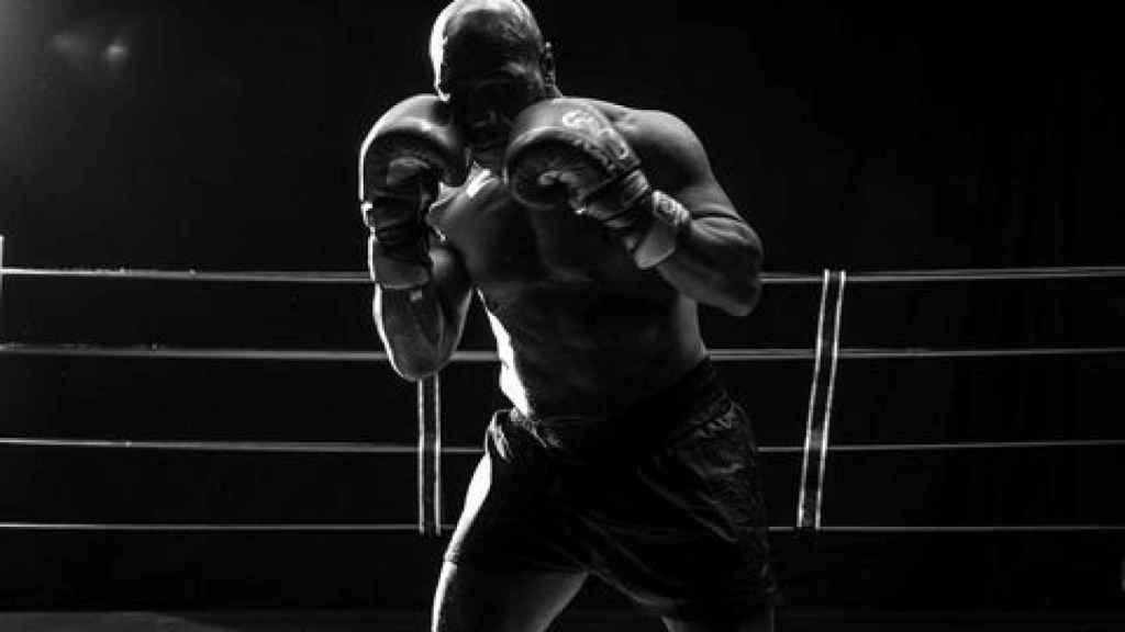 El excampeón de los pesos pesados Mike Tyson