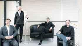 Thomas Blank, Horst Hahn, Jochen Kriegseis y Martin Limbach del KIT han desarrollado este dispositivo.