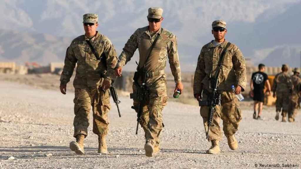 Soldados del ejército norteamericano en Afganistán.