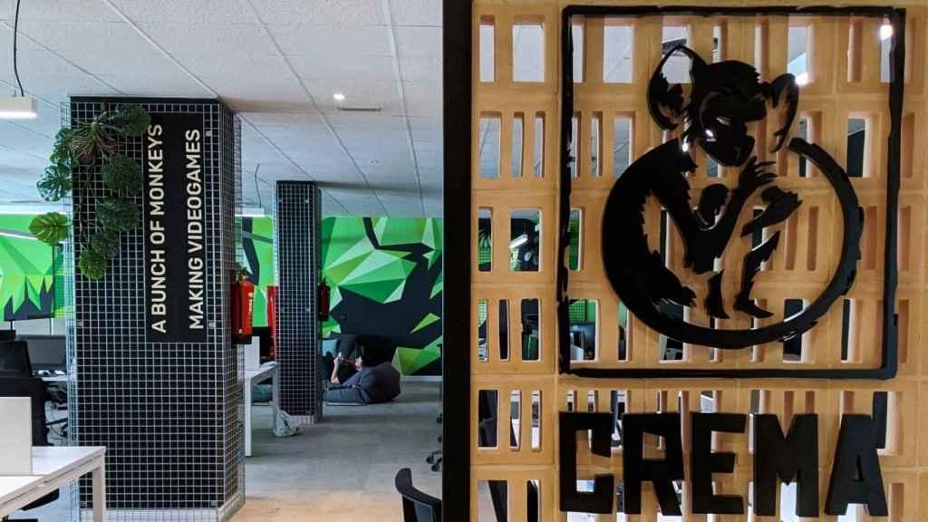 Las oficinas de Crema Games en Madrid.