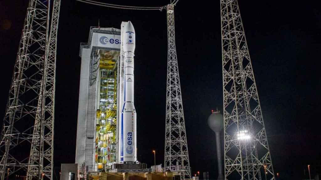 El cohete Vega donde iba el Ingenio