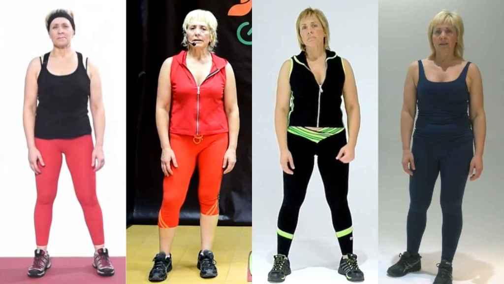 Pilar Baeza ahora se dedica a hacer vídeos explicando rutinas de gimnasio.