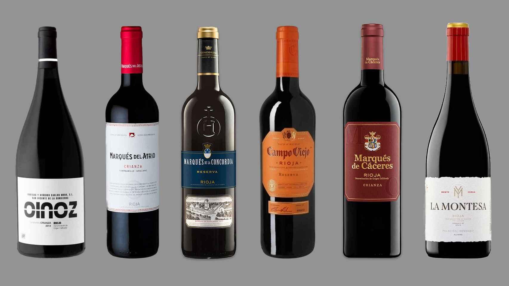 Estos son los 12 mejores vinos tintos de La Rioja según la OCU: se pueden comprar desde 7 hasta 24€