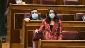 Inés Arrimadas, en el Congreso de los Diputados.