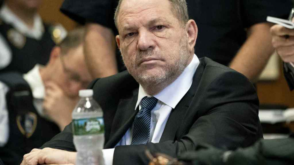 Harvey Weinstein, en la corte de Nueva York.