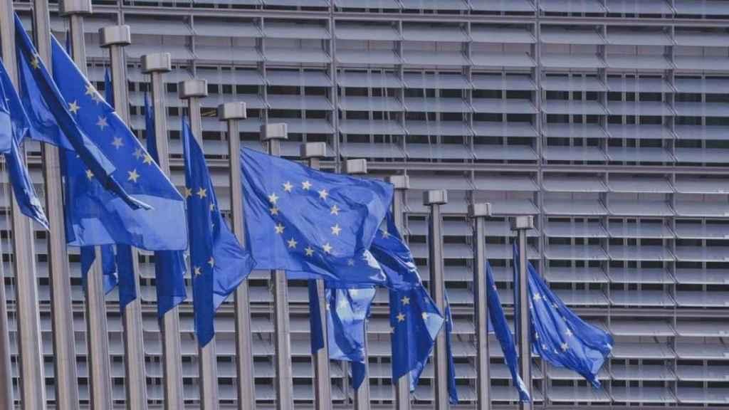 Imagen de la sede de la Unión Europea en Bruselas