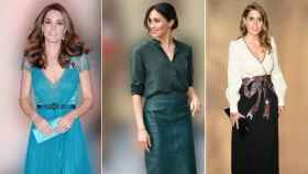 Kate Middleton, Meghan Markle y Beatriz de York.