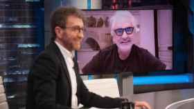 Flavio Briatore, durante su intervención en 'El Hormiguero' a través de una videollamada.