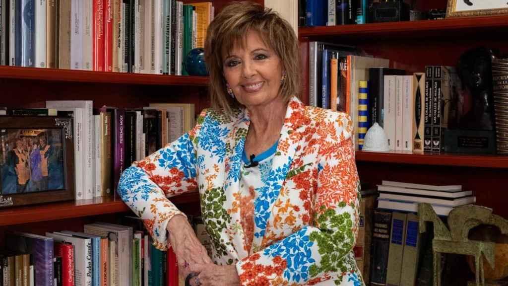 Teresa Campos en una imagen tomada para YouTube.