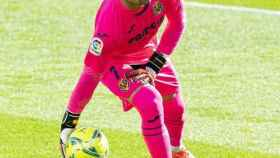 Sergio Asenjo, en un partido del Villarreal. Foto: Instagram (@sergioasenjo1)