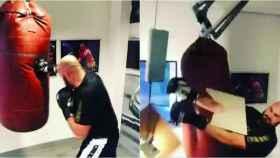 El accidente de Tyson Fury en el gimnasio