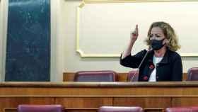 Ana Oramas en el Congreso de los diputados este miércoles.