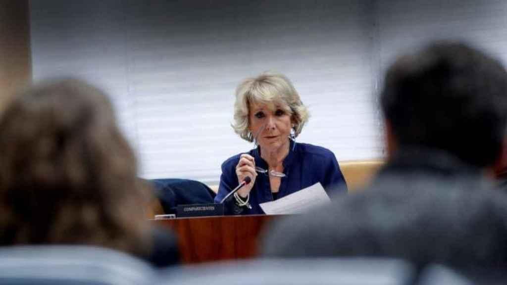 La expresidenta de la Comunidad de Madrid, Esperanza Aguirre, en una imagen de archivo. Efe