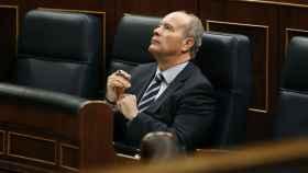 El ministro de Justicia, Juan Carlos Campo, en el Congreso en una imagen de archivo./