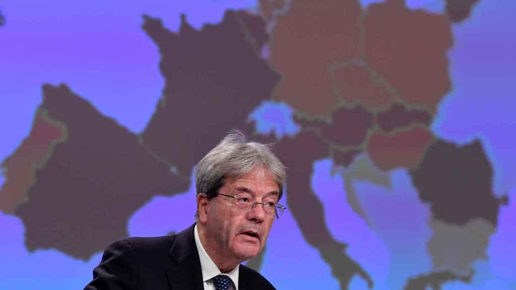 El comisario de Asuntos Económicos, Paolo Gentiloni.