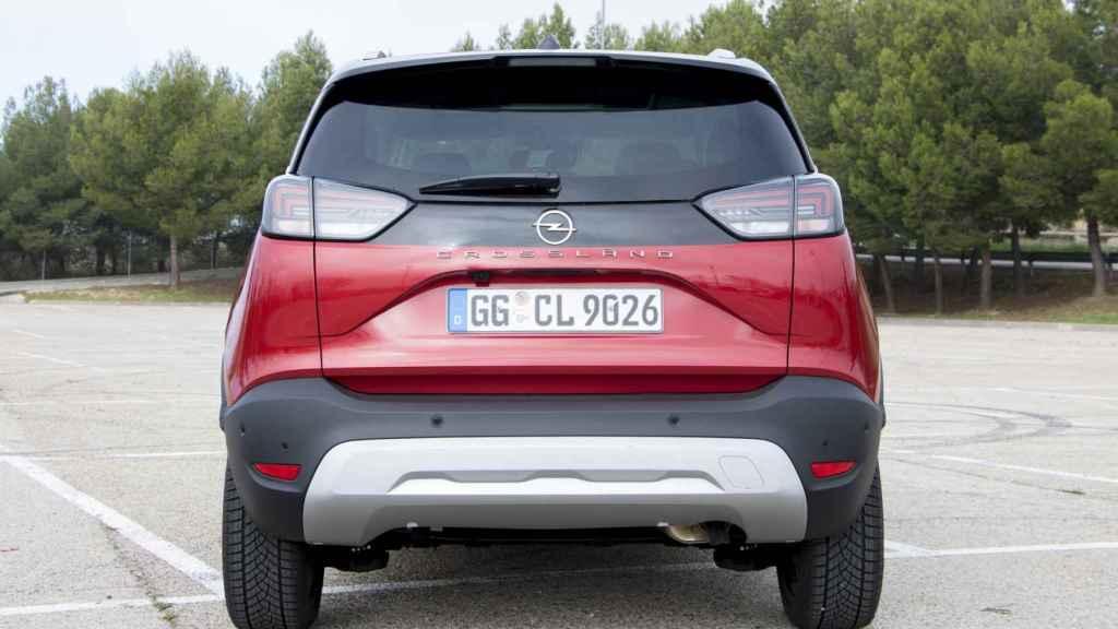 El Opel Crossland es uno de los diez SUV urbanos más vendidos en España.
