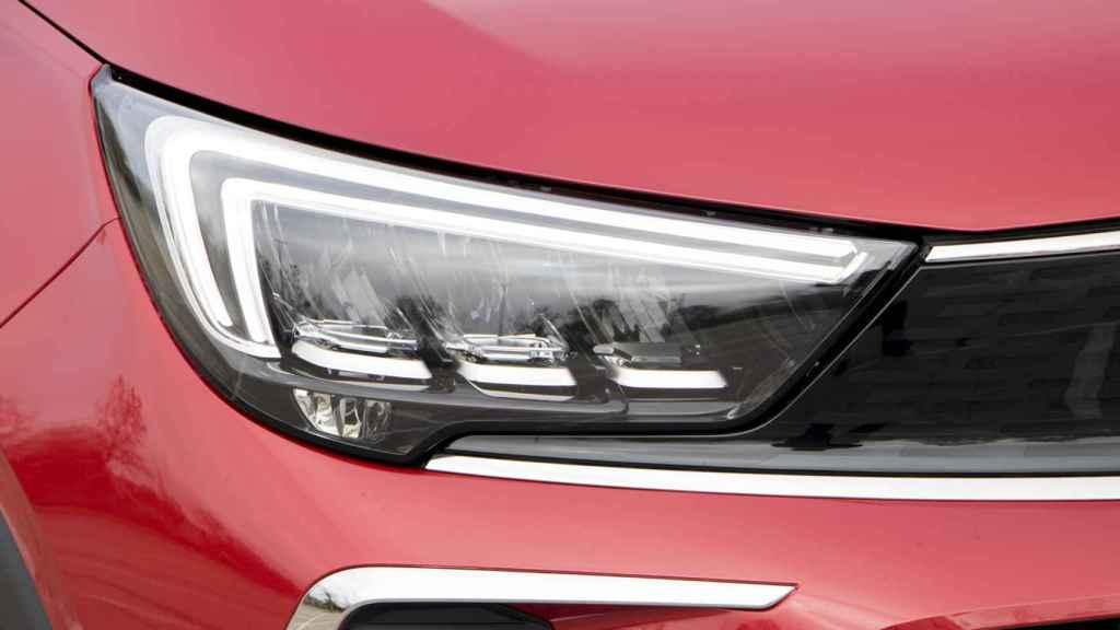 Grupos ópticos en el Opel Crossland.