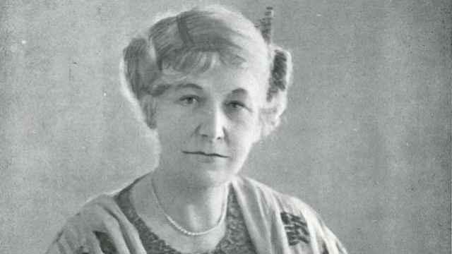 Dora Montefiore en 1923.