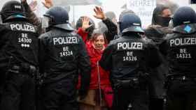 Imagen de la manifestación en Berlín.