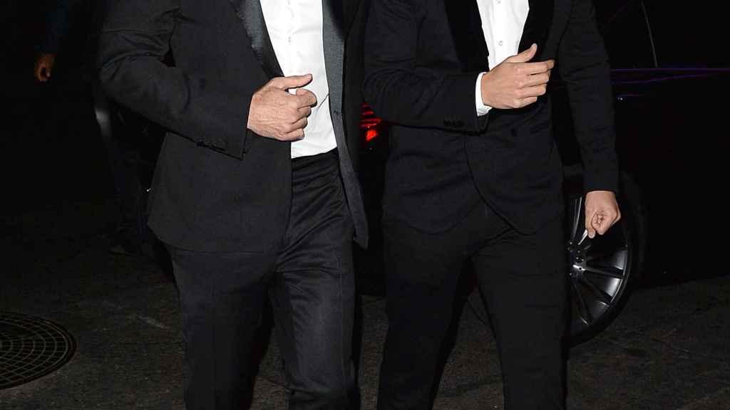 Ricky y Jwan Yosef, en una noche de gala.