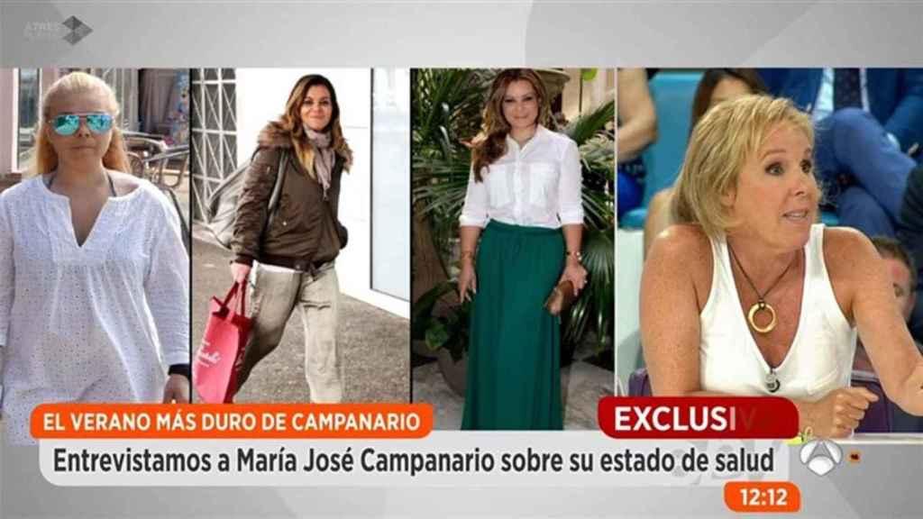 Carmen Pardo en el programa 'Espejo público'.