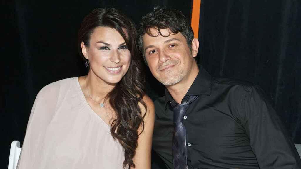 Raquel Perera y Alejandro Sanz.