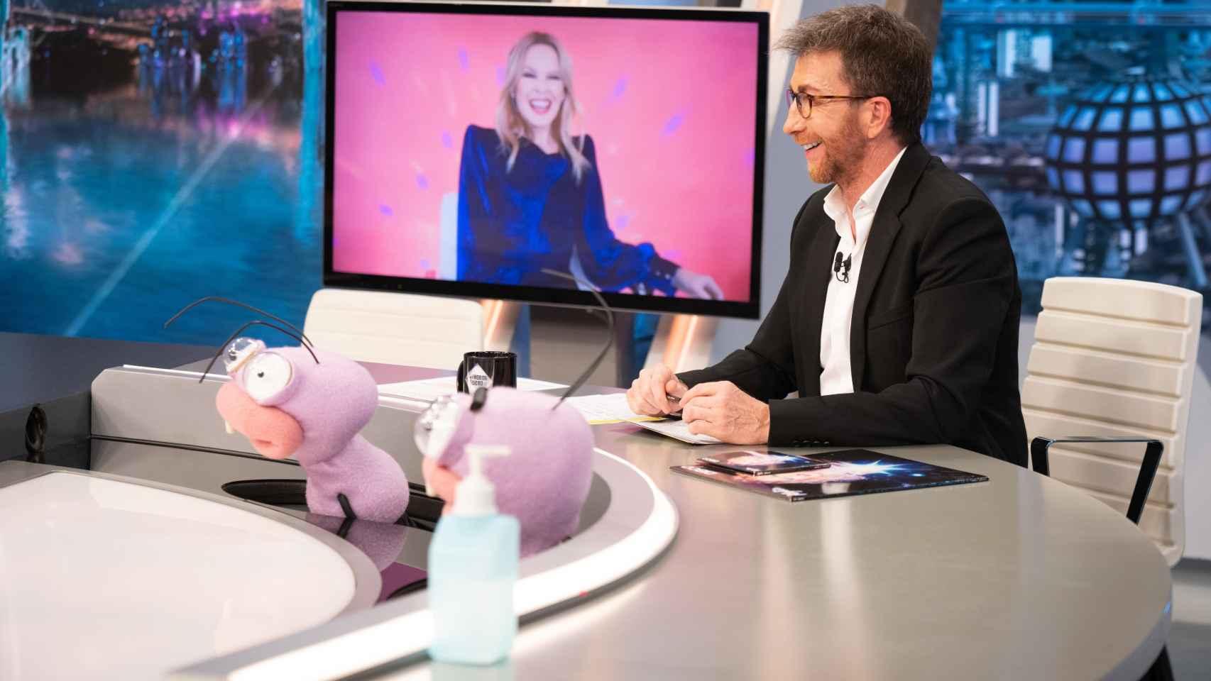 Kylie Minogue en 'El Hormiguero'.