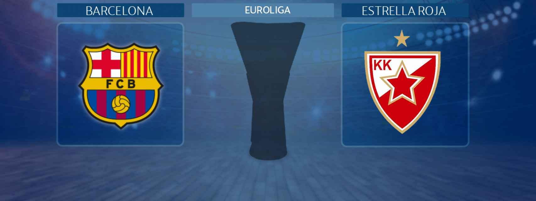 Barcelona - Estrella Roja, partido de la Euroliga