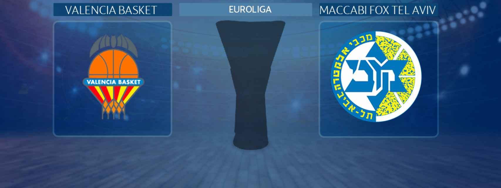 Valencia Basket - Maccabi Fox Tel Aviv, partido de la Euroliga