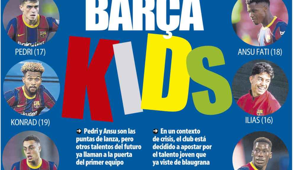 Portada Mundo Deportivo (19/11/20)