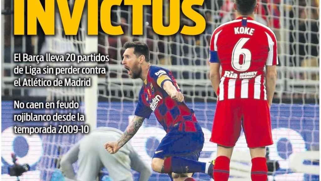 Portada Sport (19/11/20)