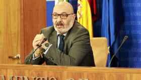El portavoz de Vox en Andalucía, Alejandro Hernández.
