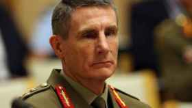 EL General Angus Campbell, jefe de las fuerzas armadas australianas.