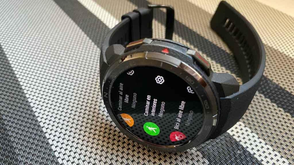El Honor Watch GS Pro ofrece una enorme variedad de ejercicios