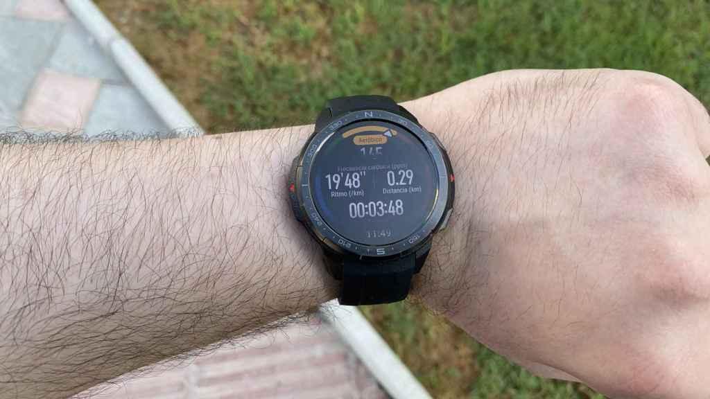 No importa el ejercicio que hagamos, este reloj lo aguanta