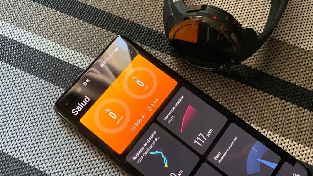La app de salud de Huawei es muy completa