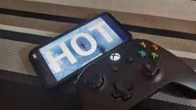 Superhot funcionando en un iPhone gracias a GeForce Now