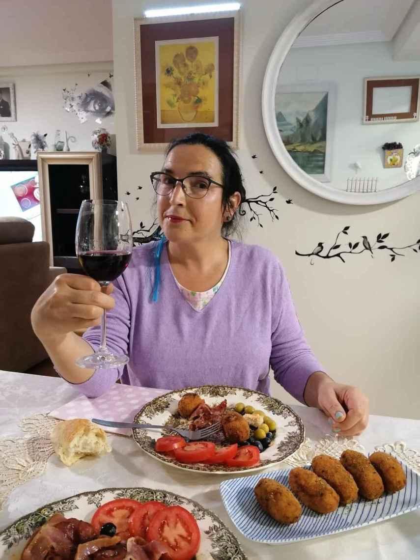 Águeda se describió como una persona casera que disfrutaba de las redes sociales en su tiempo libre.