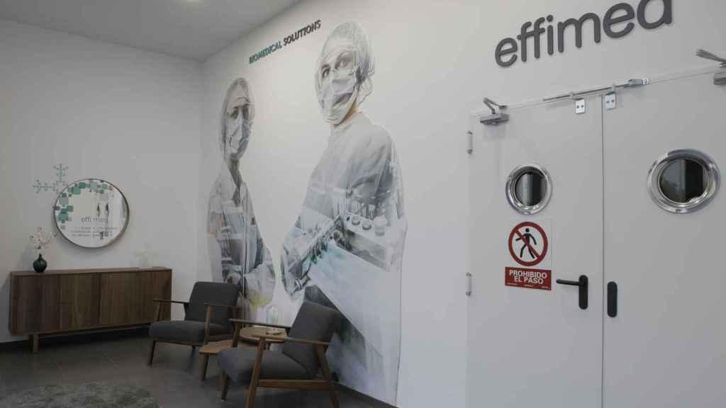 Instalaciones de la empresa en Lucena (Córdoba).
