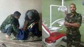 Bala Salama (29 años) ha dejado a su hija recién nacida en El Aaiún para ingresar en una academia militar.