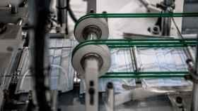 Proceso de producción de mascarillas