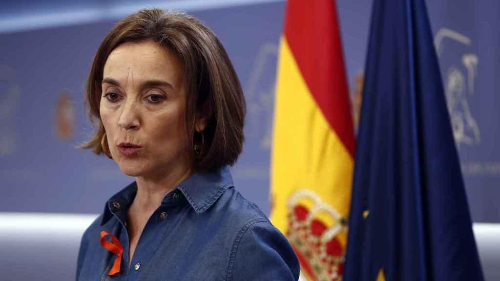 La portavoz parlamentaria del PP, Cuca Gamarra.