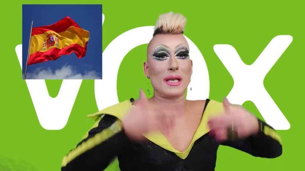 Madame Perlán defendiendo la unidad de España