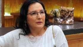 Águeda Ruiz durante su participación en 'First Dates'.