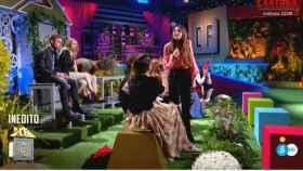 Marta Peñate enfrentándose a Samira en 'La casa fuerte 2'.