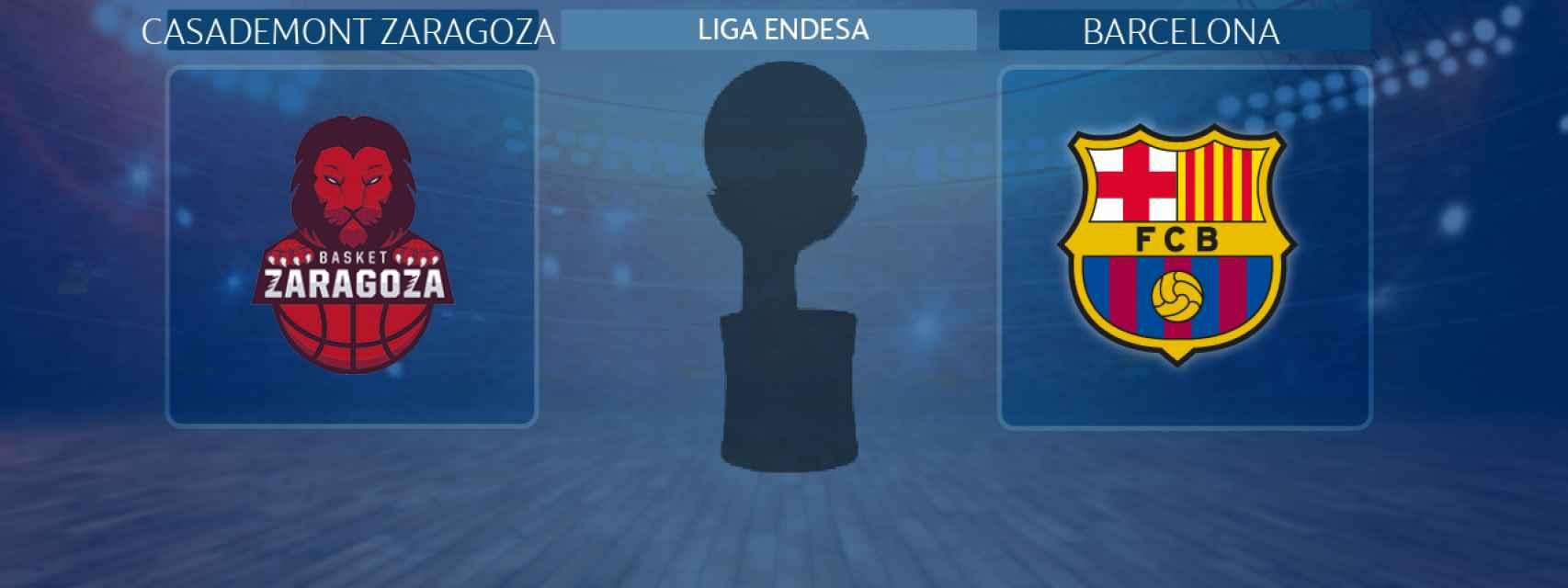 Casademont Zaragoza - Barcelona, partido de la Liga Endesa