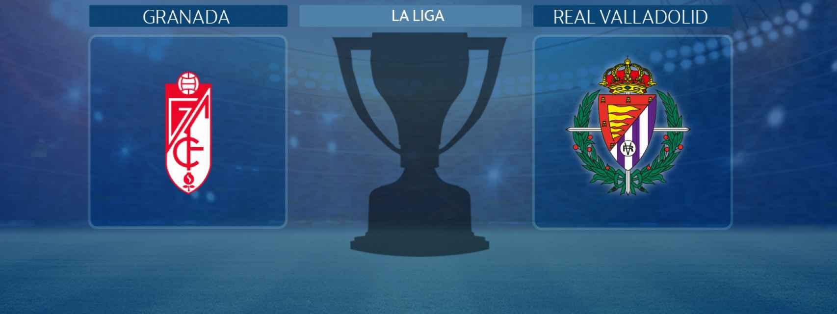 Granada - Real Valladolid, partido de La Liga