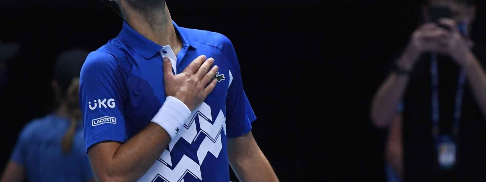 Djokovic, aliviado tras vencer a Zverev